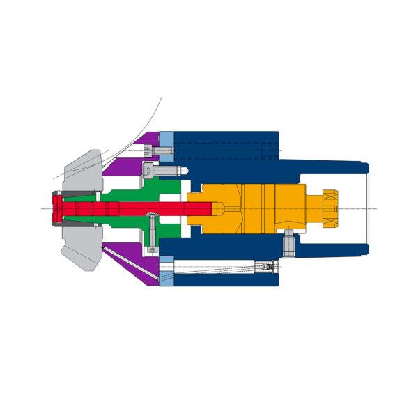 Schema tagliatura ingranaggio conico